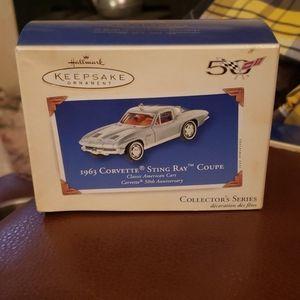 Hallmark Keepsake ornament 1963 Corvette Stingray